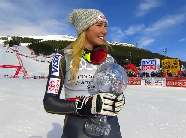 Mikaela Shiffrin und ihre fünfte Slalom-Kristallkugel