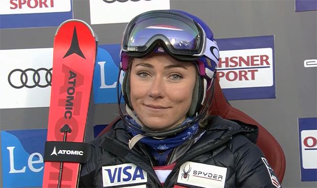 Mikaela Shiffrin übernimmt Führung beim Slalom-Weltcupauftakt in Levi