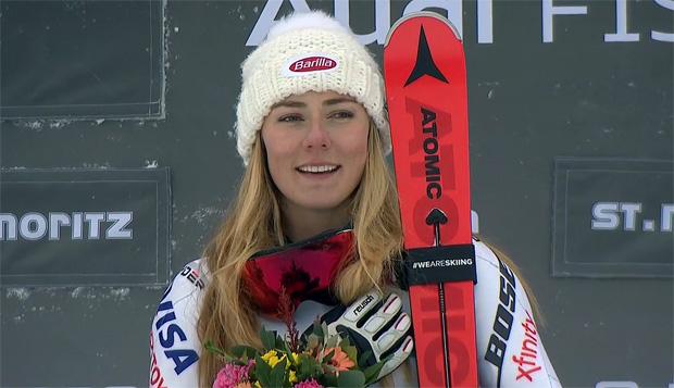Mikaela Shiffrin gewinnt Super-G und Parallelslalom in St. Moritz