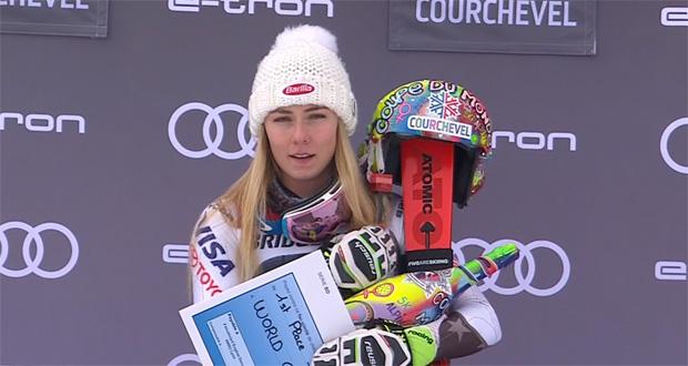 Jetzt schlägt's 50! Mikaela Shiffrin gewinnt Slalom in Courchevel