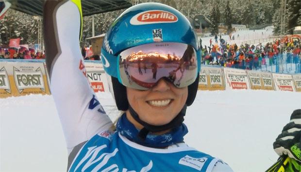 Mikaela Shiffrin gewinnt überlegen Riesentorlauf auf dem Kronplatz