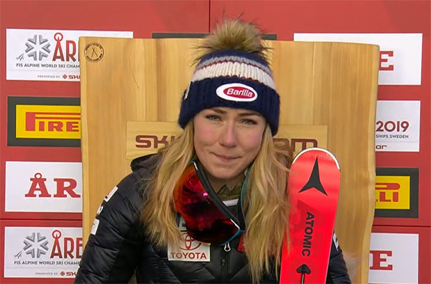 SKI WM 2019: Mikaela Shiffrin ist Super-G Weltmeisterin 2019