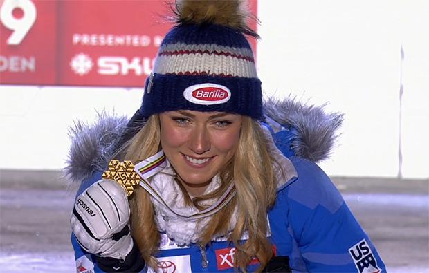 Mikaela Shiffrin: Slalom-Weltmeisterin zum vierten Mal en suite