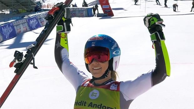 Mikaela Shiffrin gewinnt letzten Riesentorlauf der Saison 2018/19 in Soldeu