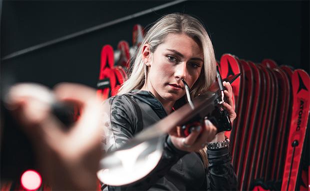 Mikaela Shiffrin hält Atomic weiterhin die Treue (Foto: © Atomic)