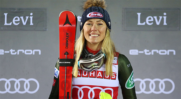ATOMIC-News: Slalomsieg 41 - Mikaelas neuer Weltrekord (Foto: © Atomic)