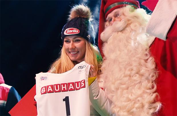 Kaum Zeit für Weihnachtseinkäufe: Der Terminkalender von Mikaela Shiffrin ist dicht gedrängt.