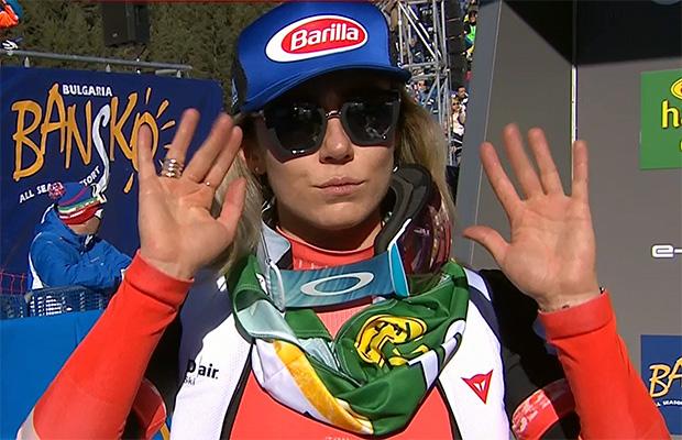 Mikaela Shiffrin gewinnt 1. Abfahrt von Bansko am Freitag