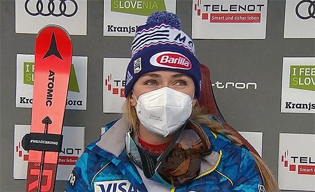 Mikaela Shiffrin übernimmt Führung beim 2. Riesenslalom von Kranjska Gora - Final-Durchgang live ab 12.15 Uhr