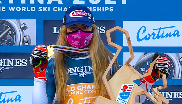 Keine Kombinationsmedaille für ÖSV Damen - Mikaela Shiffrin Kombi-Weltmeisterin 2021
