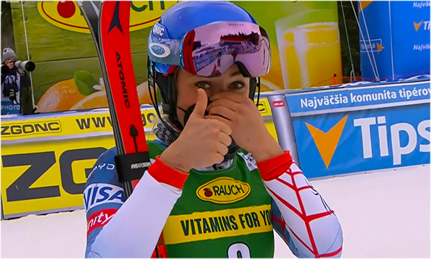 Mikaela Shiffrin gewinnt Slalom in Jasná 2021