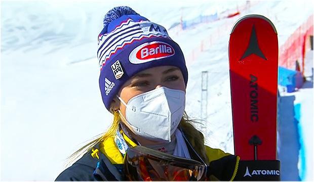 Mikaela Shiffrin will auch im Super-G erfolgreich sein