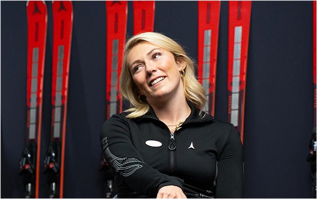 Mikaela Shiffrin will mit einem Lächeln und ohne Druck in die Olympiasaison starten. (Foto: © Denis Dietrich (Atomic Marketing))
