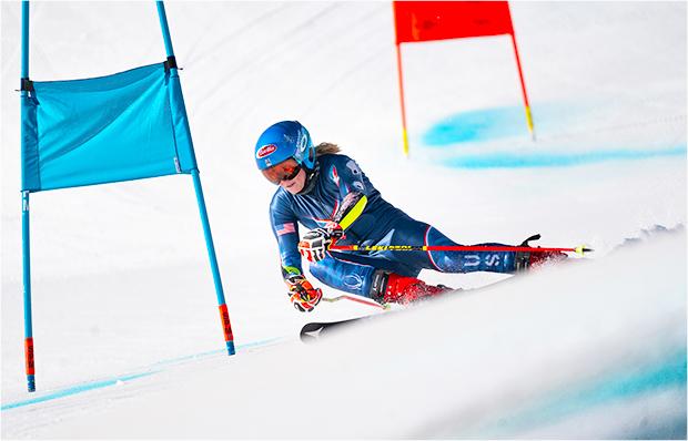 Nicht nur Mikaela Shiffrin blickt zuversichtlich in die kommende Ski Weltcup Saison (Foto: © Denis Dietrich (Atomic Marketing))