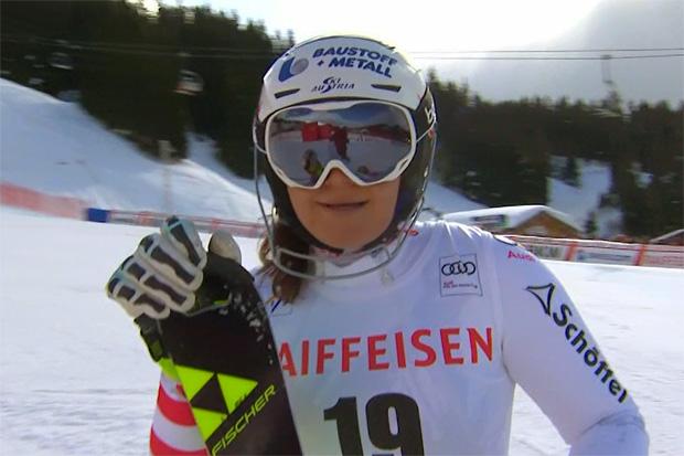 Topmotivierte Ramona Siebenhofer will wieder am Podium schnuppern