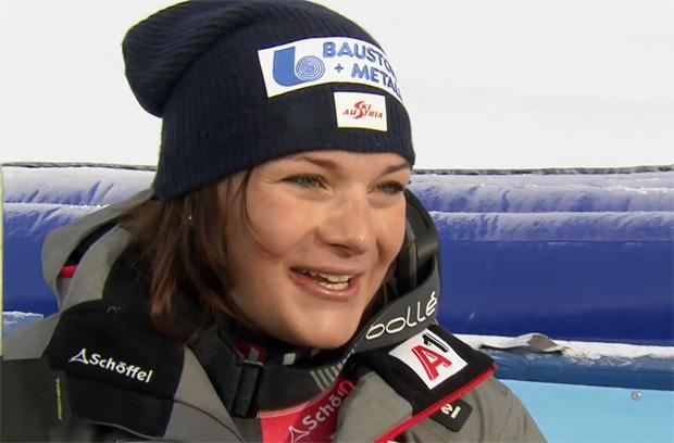 ÖSV News: 4. Platz im Super-G für Ramona Siebenhofer