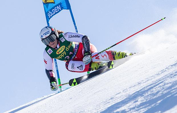 Speed-Spezialistin Siebenhofer belohnte sich beim Weltcupauftakt mit Rang zehn. (Fotocredit: GEPA/Fischer Sports GmbH)