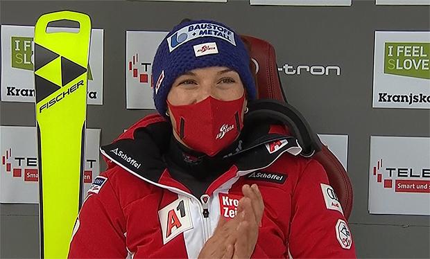 ÖSV News: Ramona Siebenhofer wurde erneut beste Österreicherin in Kranjska Gora