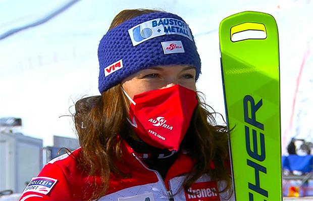 Ramona Siebenhofer wurde als Fünfte beste Österreicherin.