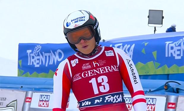Ramona Siebenhofer verpasst bei 2. Val di Fassa Abfahrt das Podest knapp