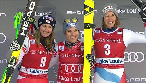 Doppelsieg für ÖSV-Damen in Lake Louise