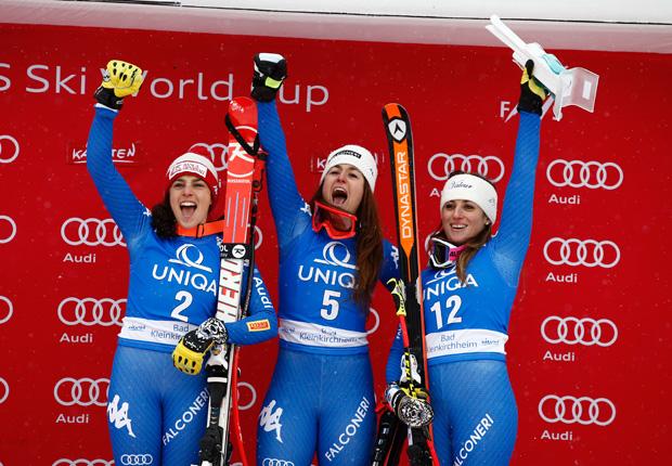 © Archivio FISI / Italienischer Ski Weltcup Damenkader der Saison 2018/19