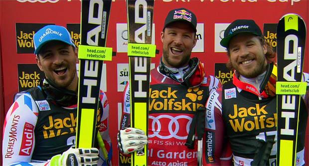 Lesen Sie was, Aksel Lund Svindal und die anderen Protagonisten nach dem heutigen Rennen gesagt haben.