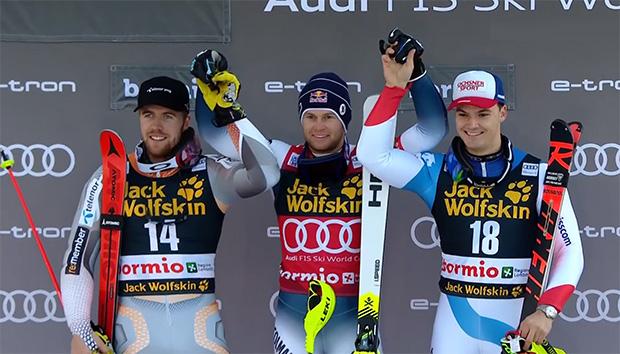 Der Sieg ging an den Franzosen Alexis Pinturault, vor Aleksander Aamodt Kilde und Loic Meillard.