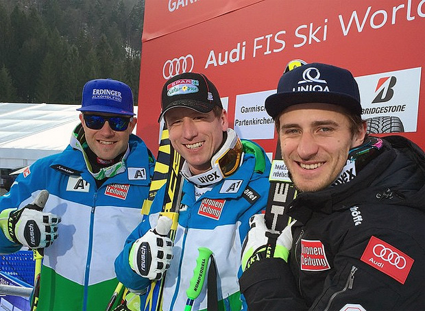 © facebook / Austria Ski Team - Triple-Sieg in Garmisch-Partenkirchen