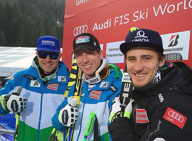 © facebook / Austria Ski Team - Triple-Sieg in Garmisch-Partenkirchen