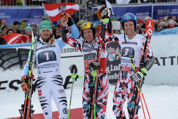 © Ch. Einecke (CEPIX) / Hirscher feiert 30. Weltcupsieg - Neureuther Zweiter, Raich Dritter