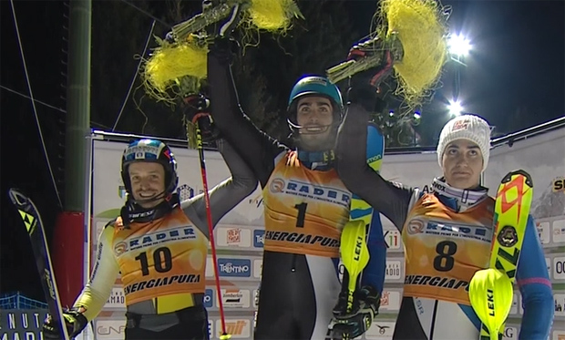Der italienische Slalommeister heißt Tommaso Sala