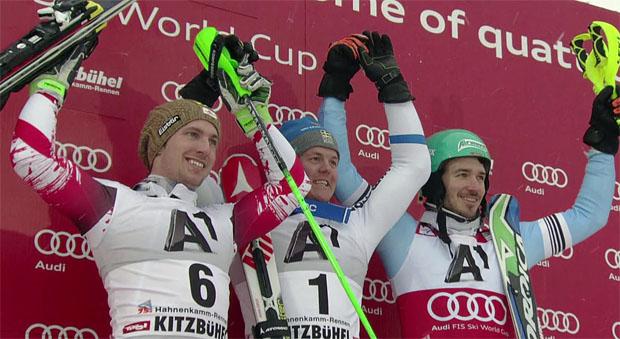 Sieg, Gams und Gondel für Hargin beim Slalom in Kitz