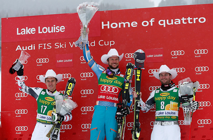 © HEAD  / Siegerbild Super G in Lake Louise
