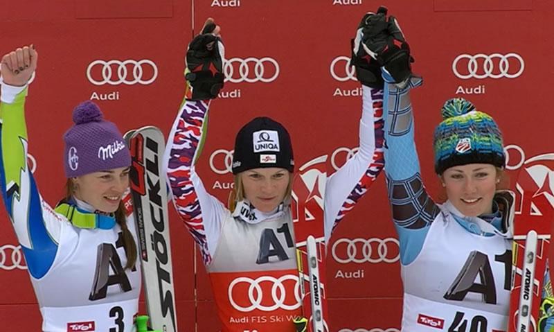Marlies Schild beendet Slalom-Traumjahr mit einem Sieg
