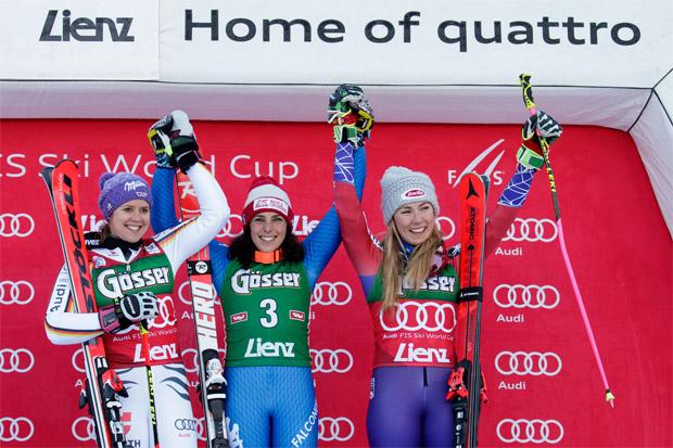 © Kraft Foods / Brignone siegt: Italienische Festspiele bei Skifest in Lienz