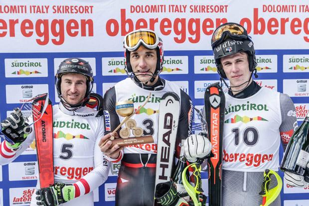 © Matteo Groppo / Das Siegerpodest: Marc Digruber, Matej Vidovic und Clement Noël