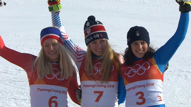 Mikaela Shiffrin ist Olympiasiegerin im Riesenslalom der Damen.