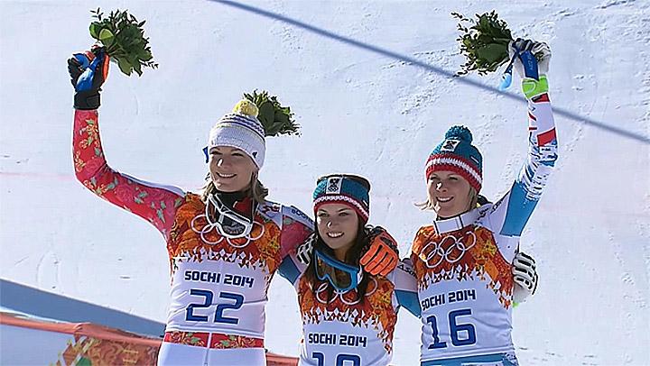 Höfl-Riesch, Fenninger, Nicole Hosp