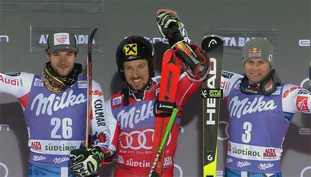 Marcel Hirscher gewinnt Parallel-Riesentorlauf in Alta Badia