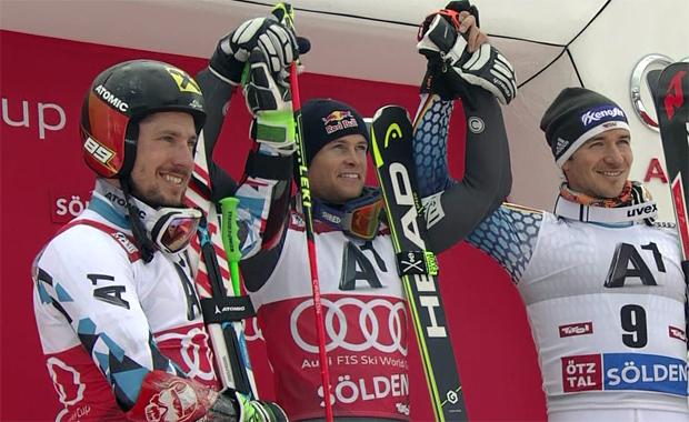 Alexis Pinturault gewinnt Auftakt-Riesentorlauf in Sölden