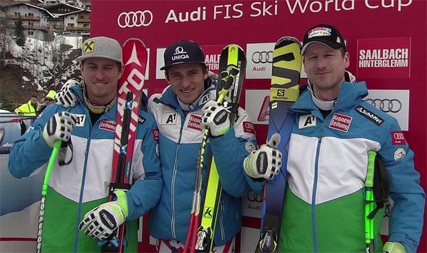 Mayer bei ÖSV-Dreifach-Triumph in Saalbach ganz vorne