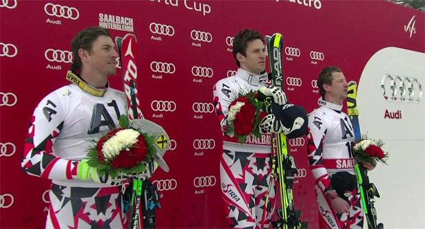 Max Franz, Matthias Mayer, Hannes Reichelt