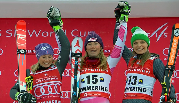 ÖSV NEWS: Die Shiffrin-Show am Semmering