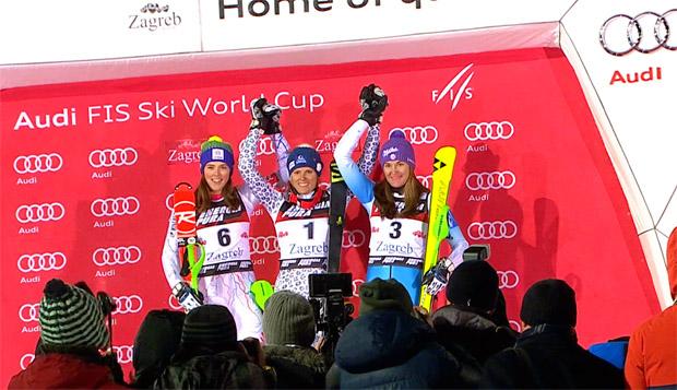Fischer Racing Team: Strachova kurvte am Bärenberg aufs Podium