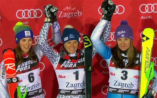 ÖSV NEWS: Schild verpasst Podium - Zuzulova gewinnt
