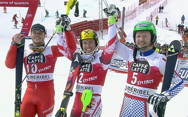 Sieg und kleine Slalom-Kugel für Hirscher in Méribel