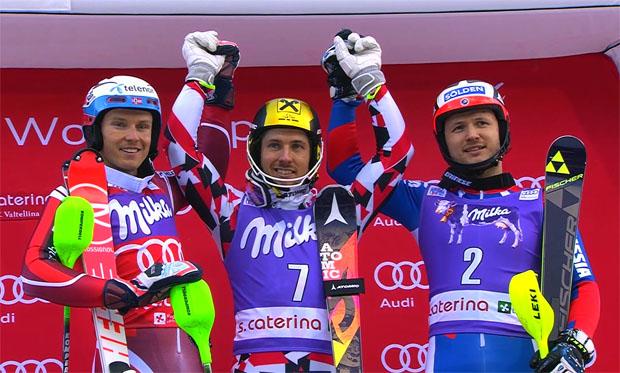 ÖSV NEWS: Hirscher gewinnt ersten Slalom 2016