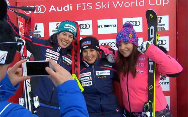 Jasmine Flury führt sehr gutes Swiss-Ski-Team an