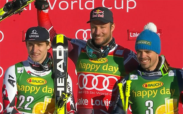 Matthias Mayer, Aksel Lund Svindal, Peter Fill
